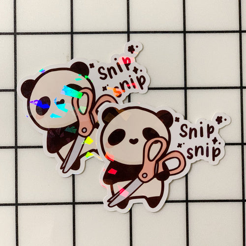 Snip Snip Sticker Flake