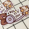 Roll It Out Sticker Flake
