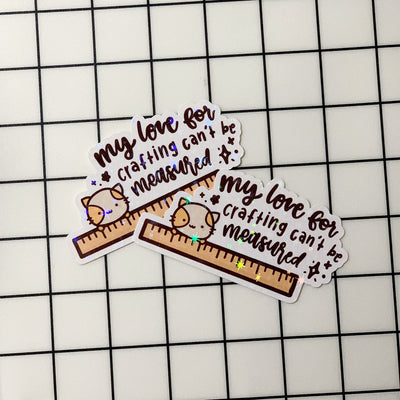 My Love Crafting Sticker Flake