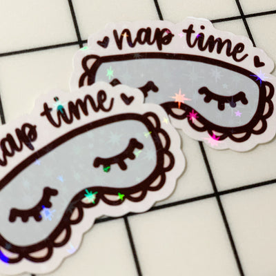 Nap Time Sticker Flake