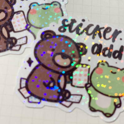 Sticker Addict Sticker Flake