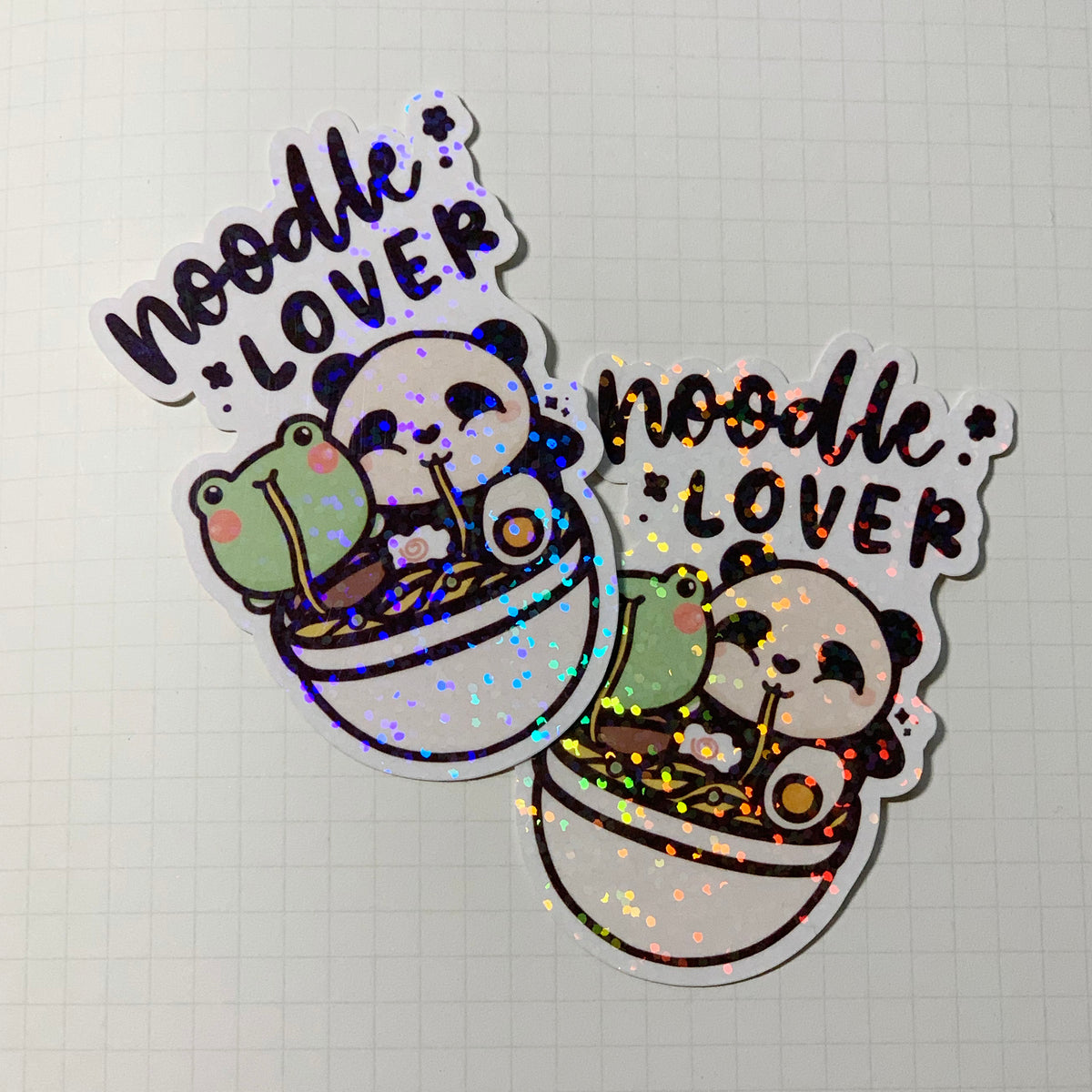 Noodle Lover Sticker Flake