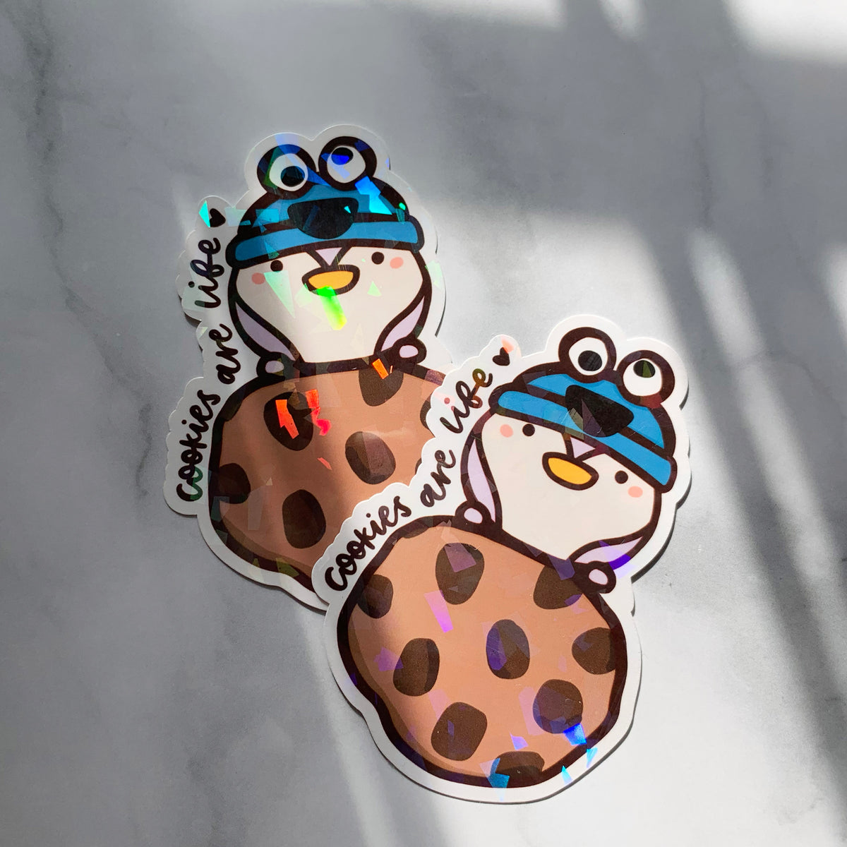 Cookies Are Life Sticker Flake