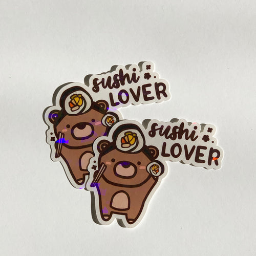 Sushi Lover Sticker Flake