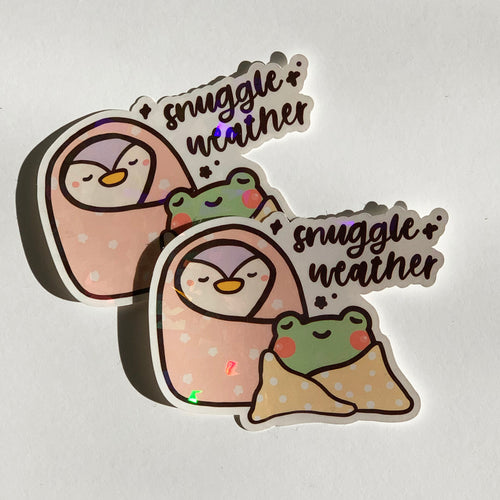 Snuggle Weather Sticker Flake