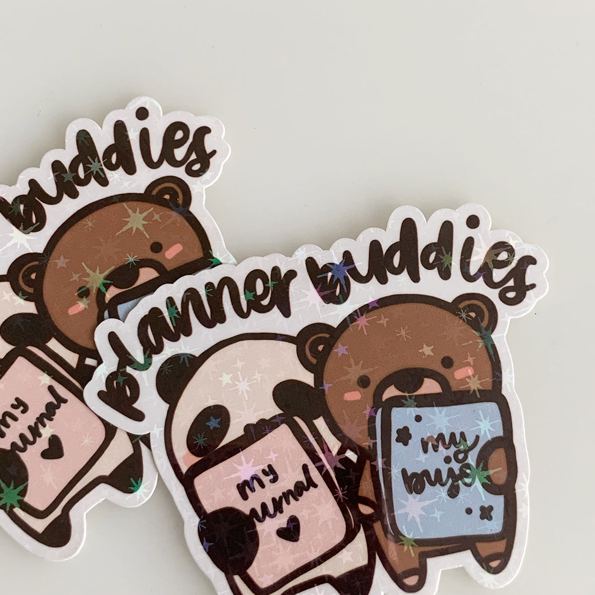 Planner Buddies Sticker Flake