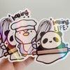 Baking Life Sticker Flake