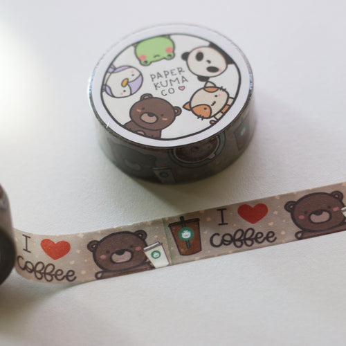 Coffee Lover Washi
