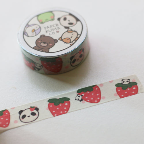 Bobo Strawberry Washi