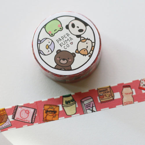 Snack Time Washi