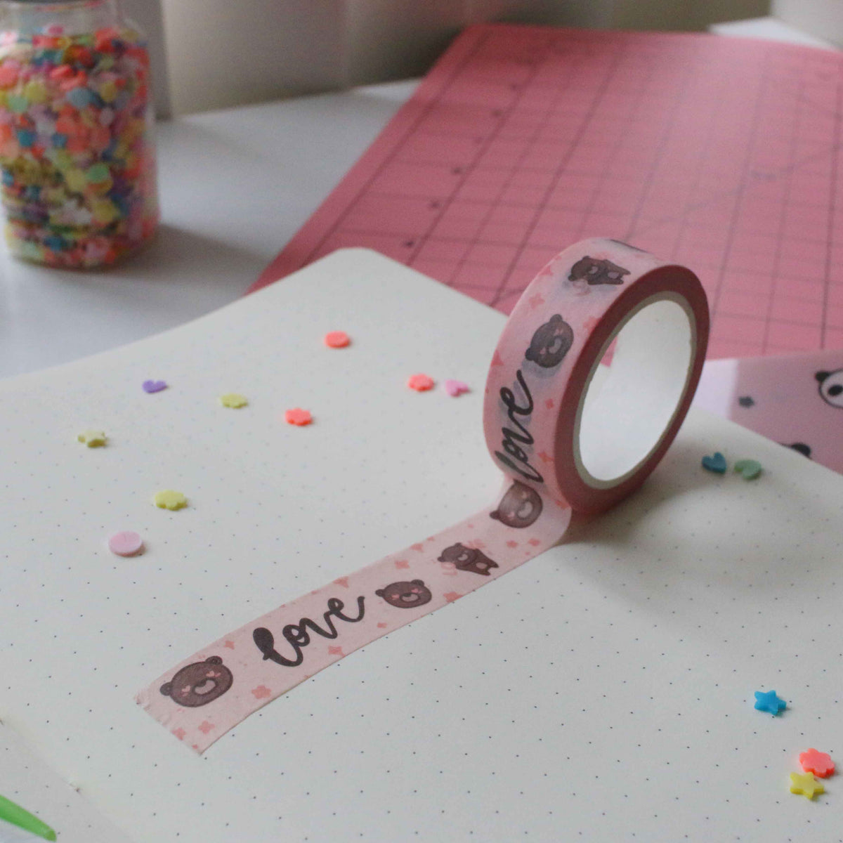 Coco Love Pink Washi Tape