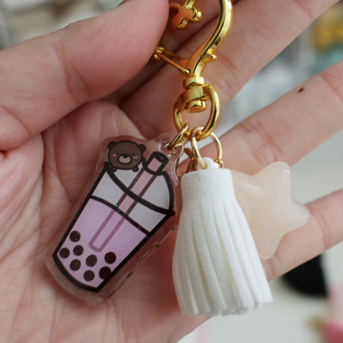 Pastel Tassels and Star Charm Add On