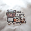 Coco & Momo Nap Time Sticker Flake