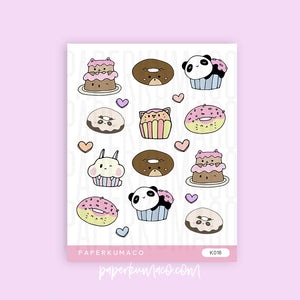 Food Animals Stickers