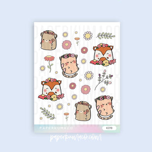 Spring Animals Stickers