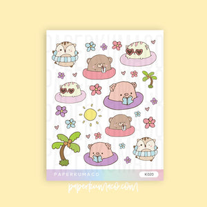 Pool Animals Stickers