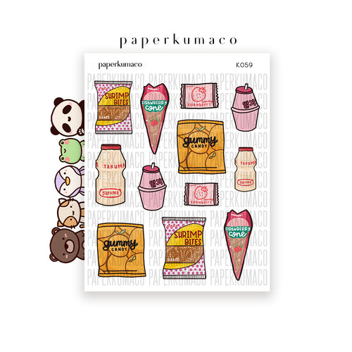Kawaii Treats Vol. 2 Stickers