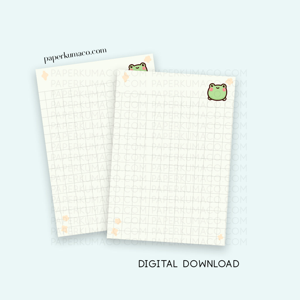 Lili Grid Paper - Digital Download