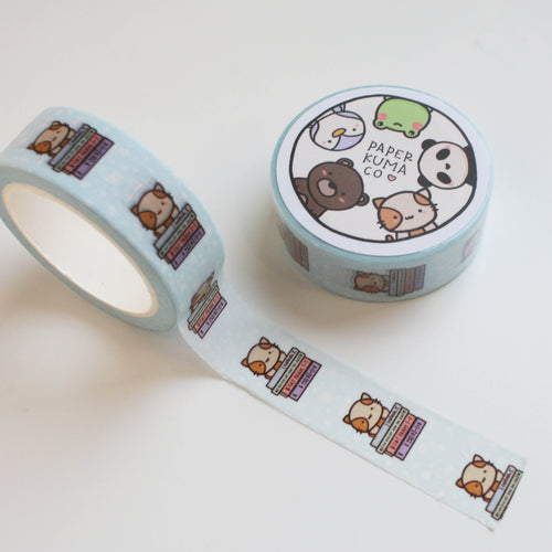 Momo Bookworm Washi