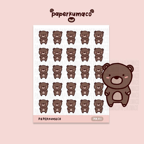 Coco Bear Stickers