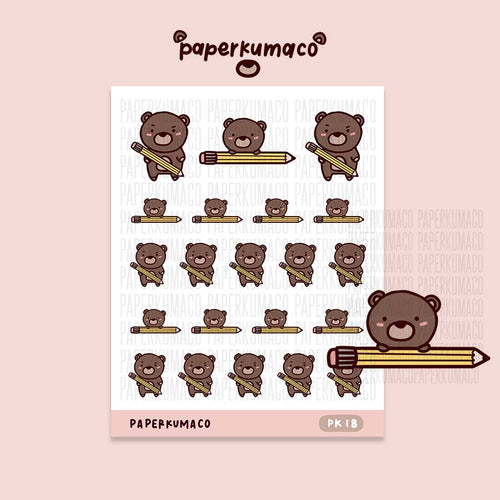 Coco Pencil Stickers