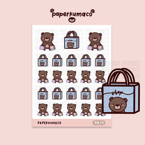 Coco Shopping Stickers