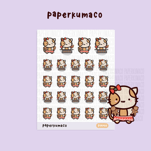 Momo Gingerbread Stickers