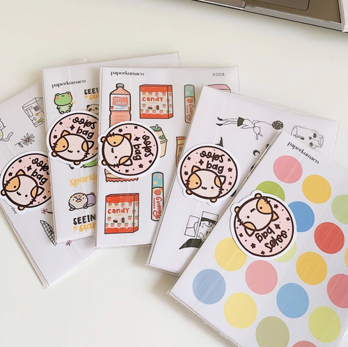 OOPS Stickers Grab Bag (5 sheets)