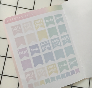 Pastel Sticker Book - Vol. 2