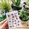 The Gardening / Green Thumb Sheet