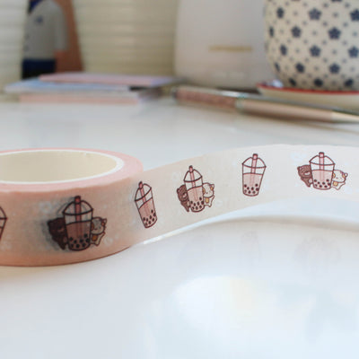 Boba Lovers Washi