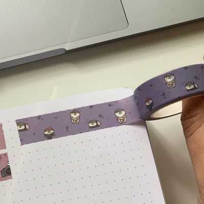 Toto Cozy Scarf Washi Tape