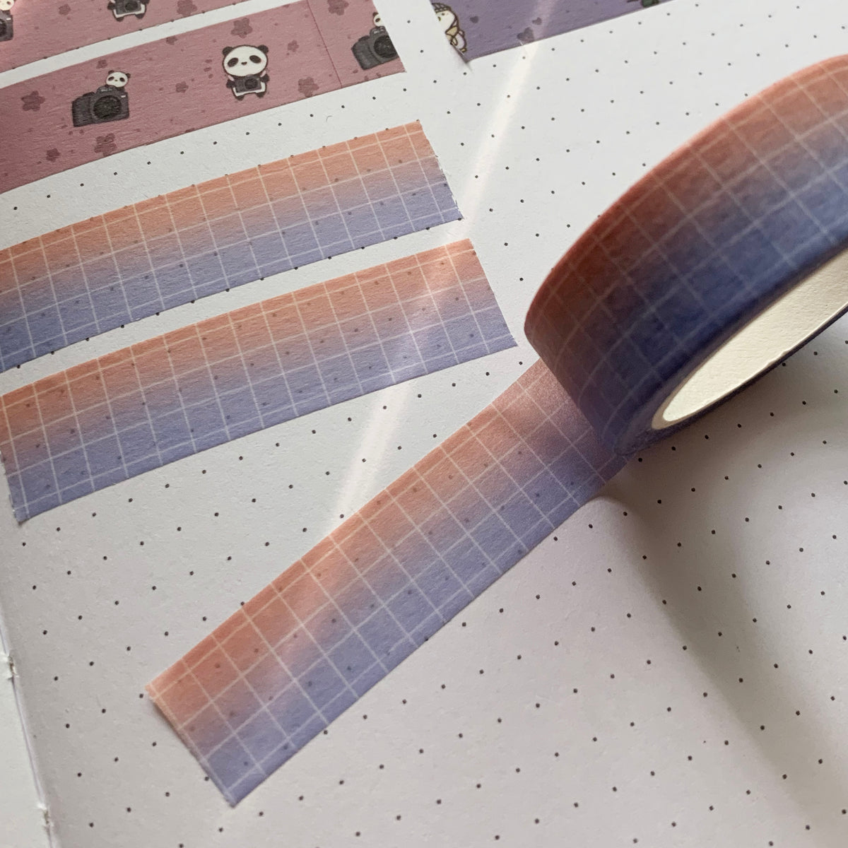 Paradise Grid Washi Tape