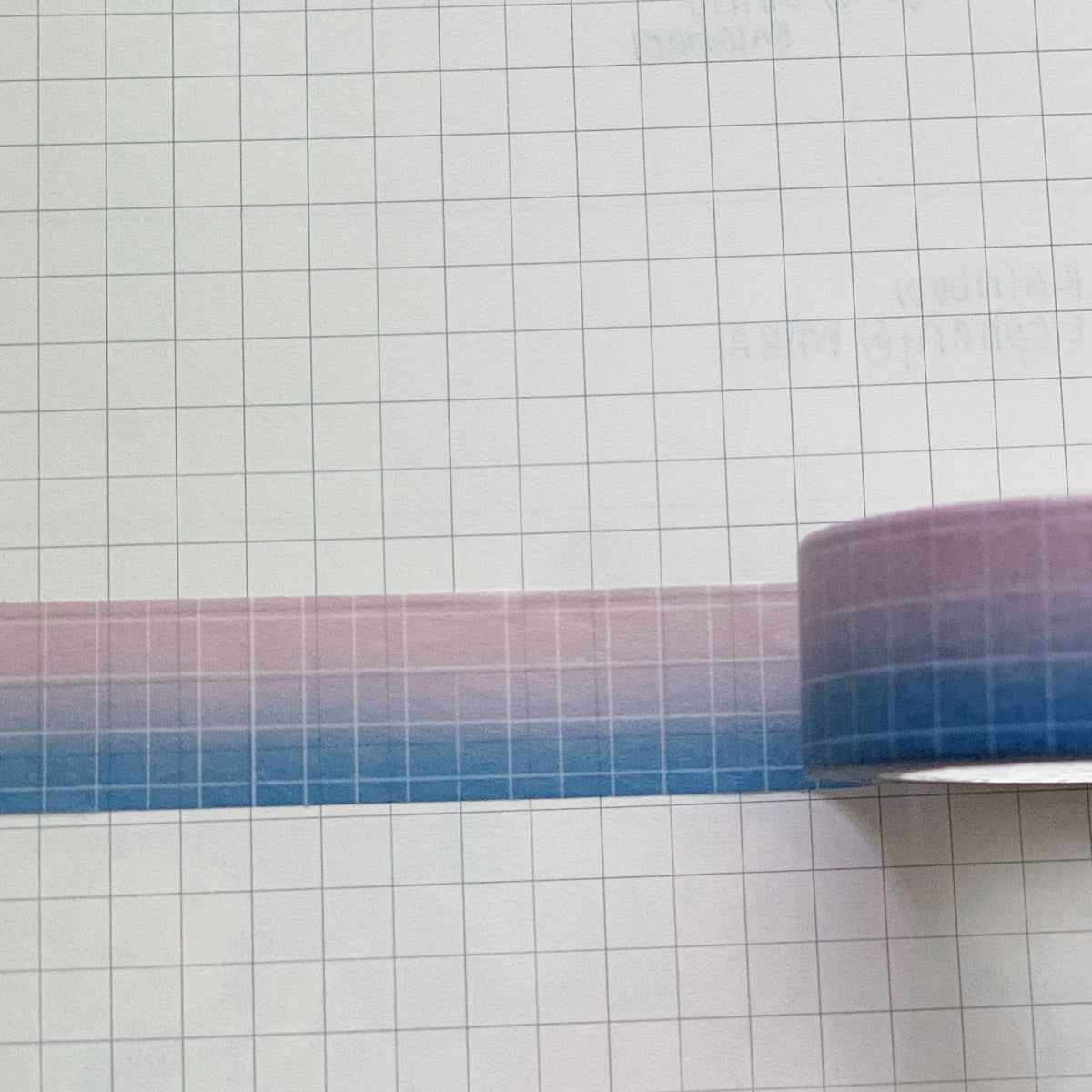 Moon Lover Grid Washi Tape