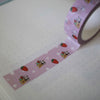 Strawberry Cake Purple Dotted Washi Tape
