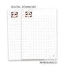 Bobo Grid Paper - Digital Download