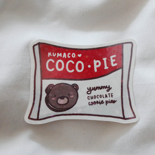 Coco Pie Sticker Flake