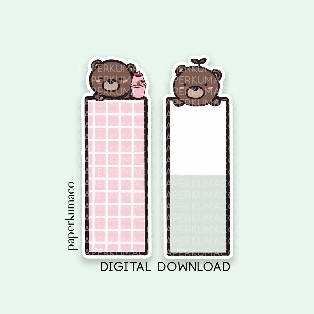 Coco Bookmarks - Digital Download