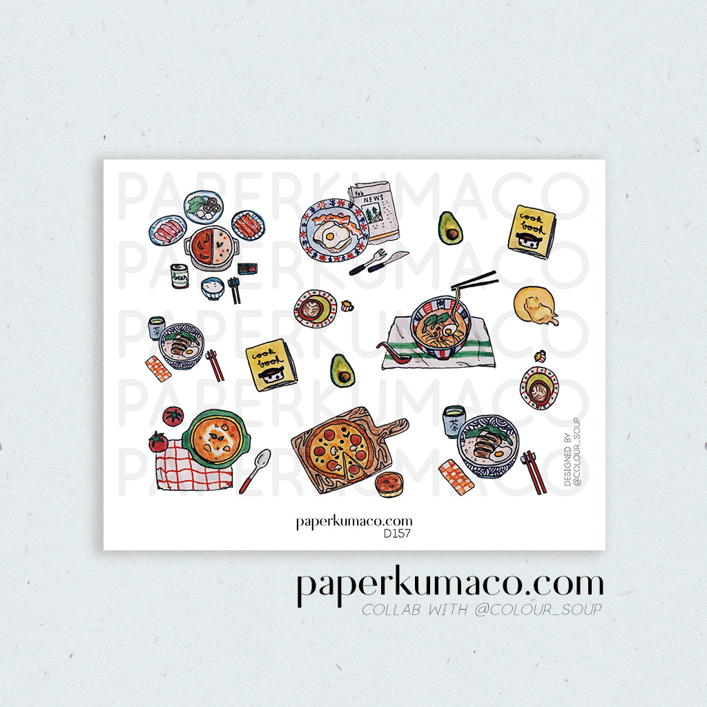 Aesthetic Foods Stickers