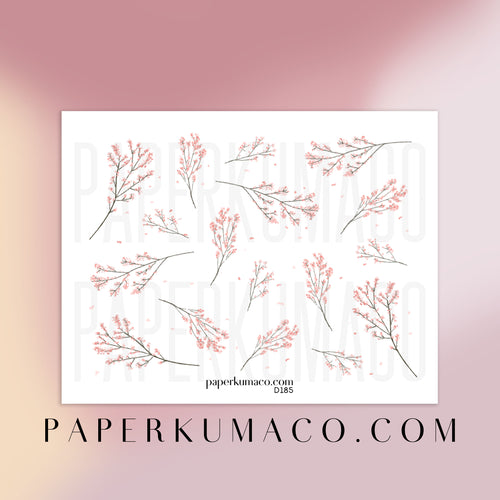 Sakura Floral Stickers