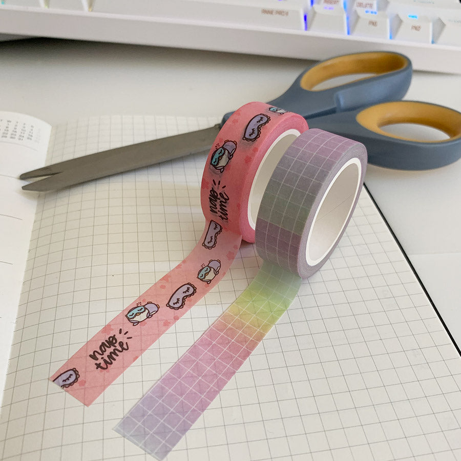 Nap Time Squad Washi Tape