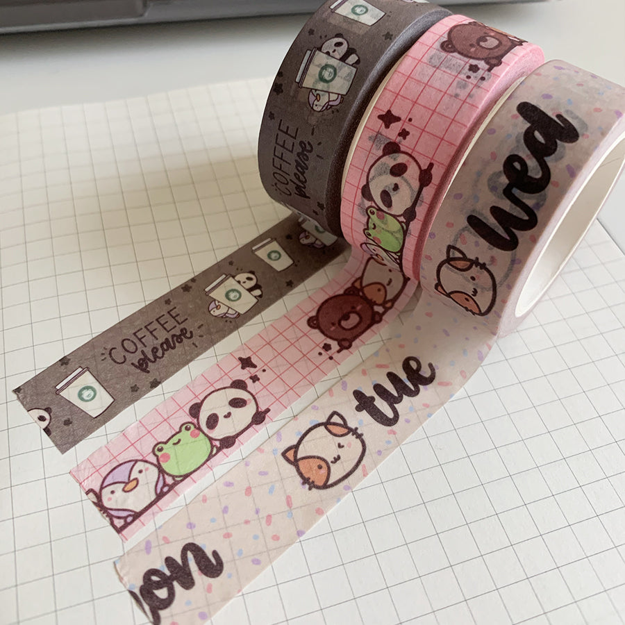 Coffee Please Washi Tape