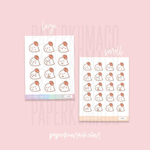 Ghostie Kawaii Stickers