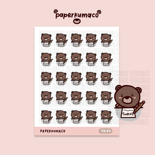 Coco Exam Stickers