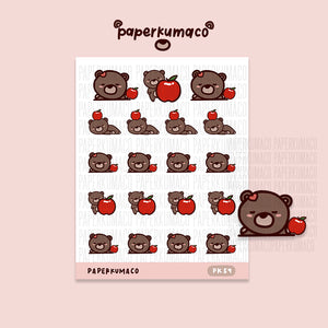 Coco Apple Stickers