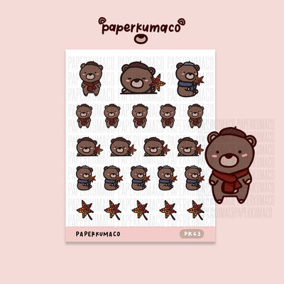 Coco Fall Day Stickers