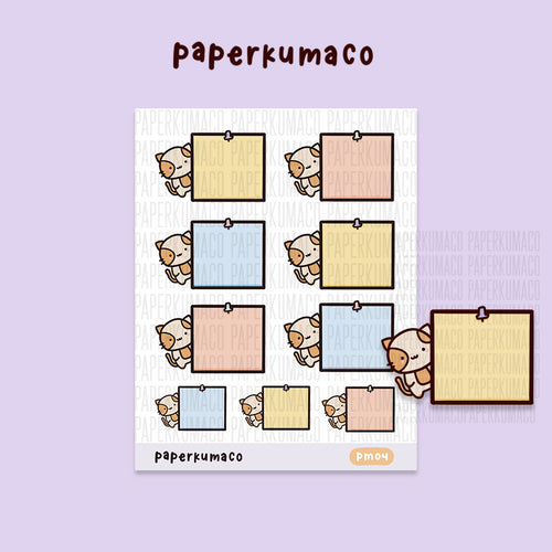 Momo Post It Notes Stickers