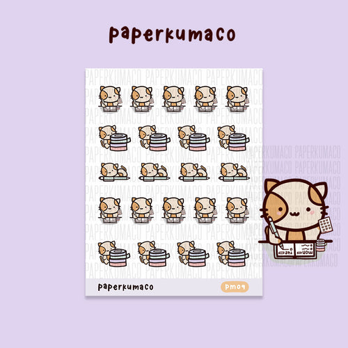 Momo Planner Kitty Mix Stickers