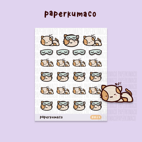 Momo Sleeping Stickers