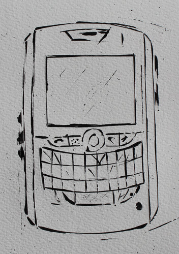 ARTIST JAMES SOTER BLACKBERRY 8820 SMARTPHONE RIM
